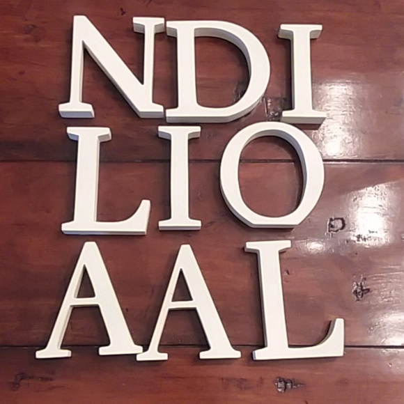 Pottery Barn Other - Pottery Barn Letters